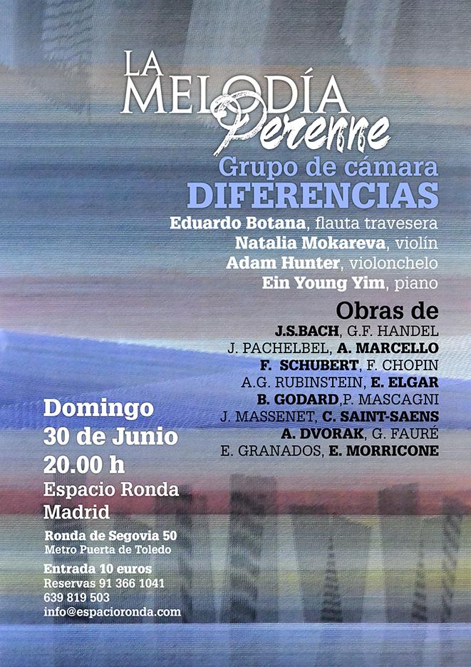 """La Melodía Perenne - Grupo de cámara """"Diferencias"""""""