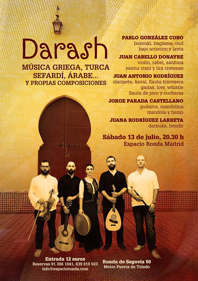 Música del Mediterráneo · Darash en concierto
