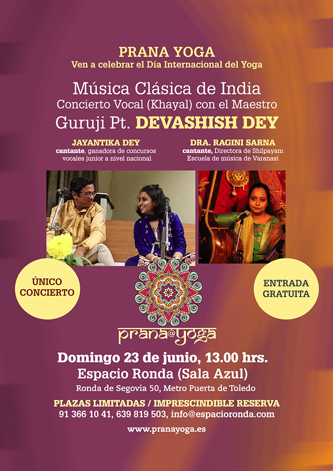 Música Clásica de India - Maestro Guruji Pt. Devashish Dey