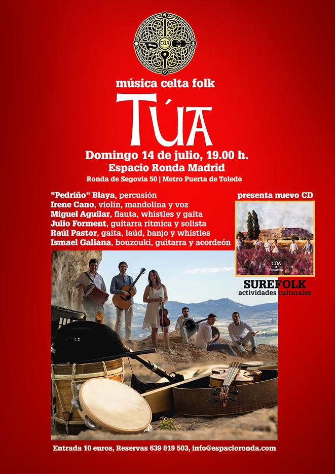 Túa, un concierto de folk celta