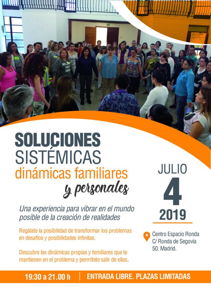 Soluciones Sistémicas - Dinámicas familiares y personales con Soraya Medina Fuentes