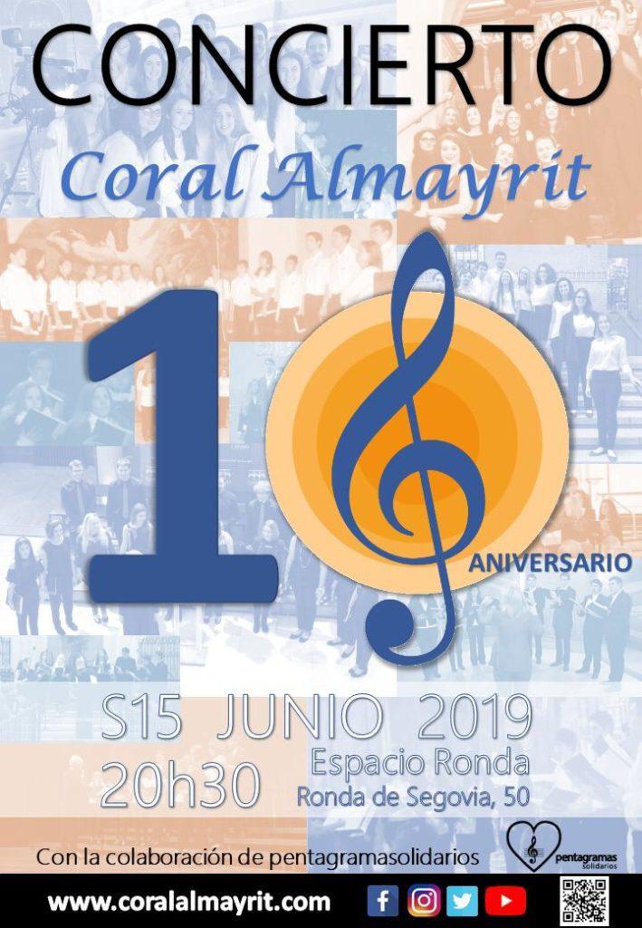 """Concierto """"Coral Almayrit"""" 10º Aniversario"""