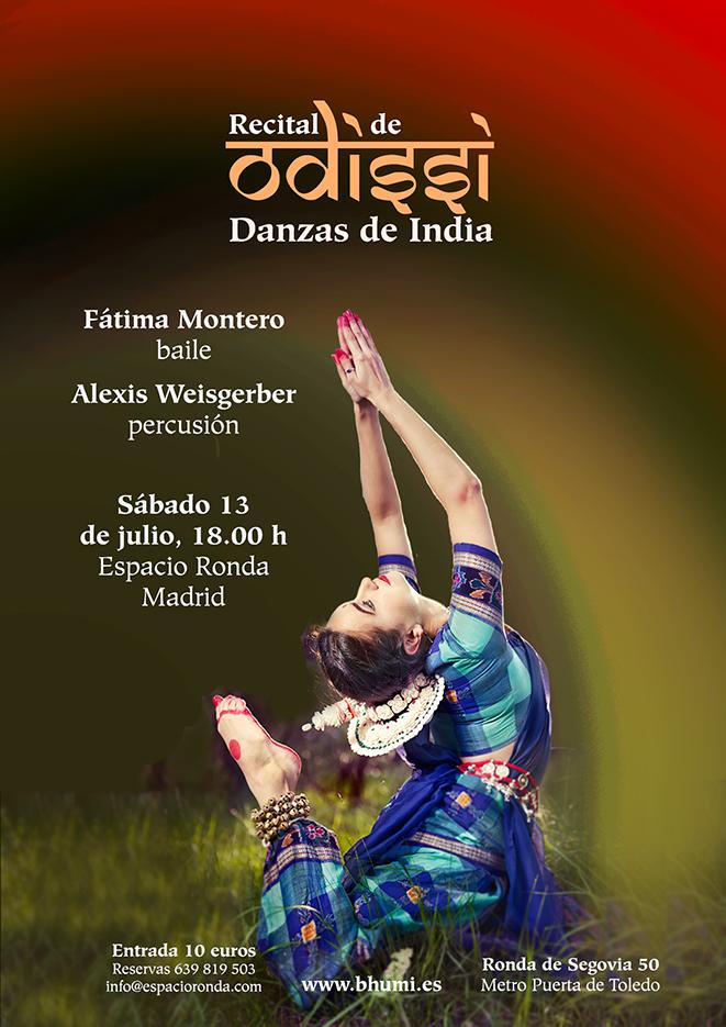 Danzas de India con Fátima Montero y Alexis Weisgerber
