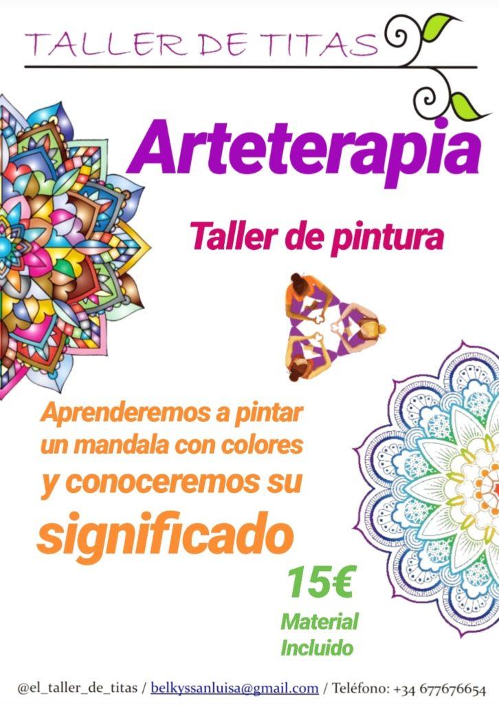 """Taller de pintura """"Arteterapia"""" con Belkys San Luis"""
