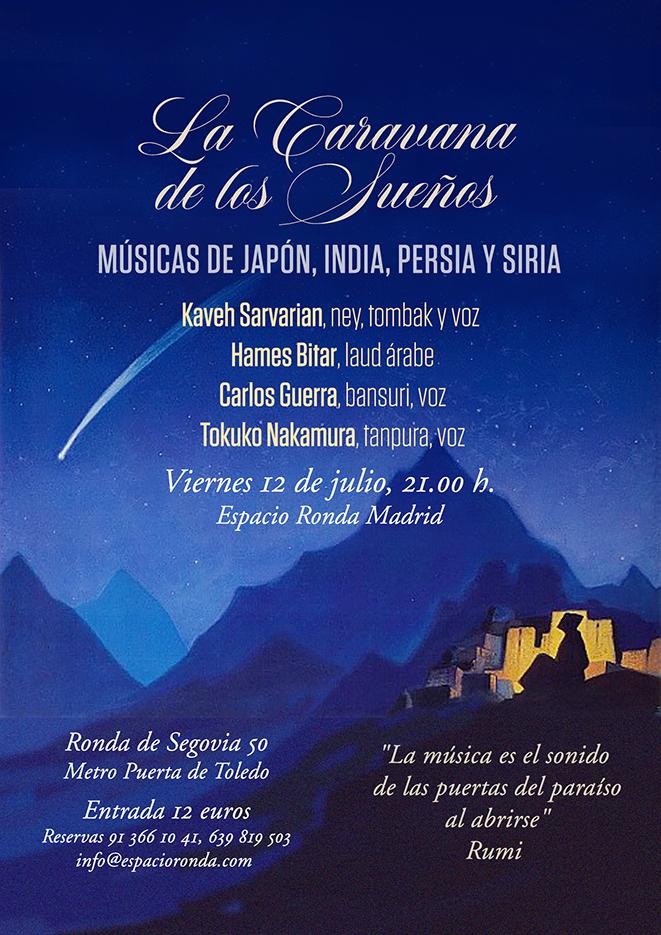"""Musicas de Japón, India, Persia y Siria """"La Caravana de los Sueños"""""""