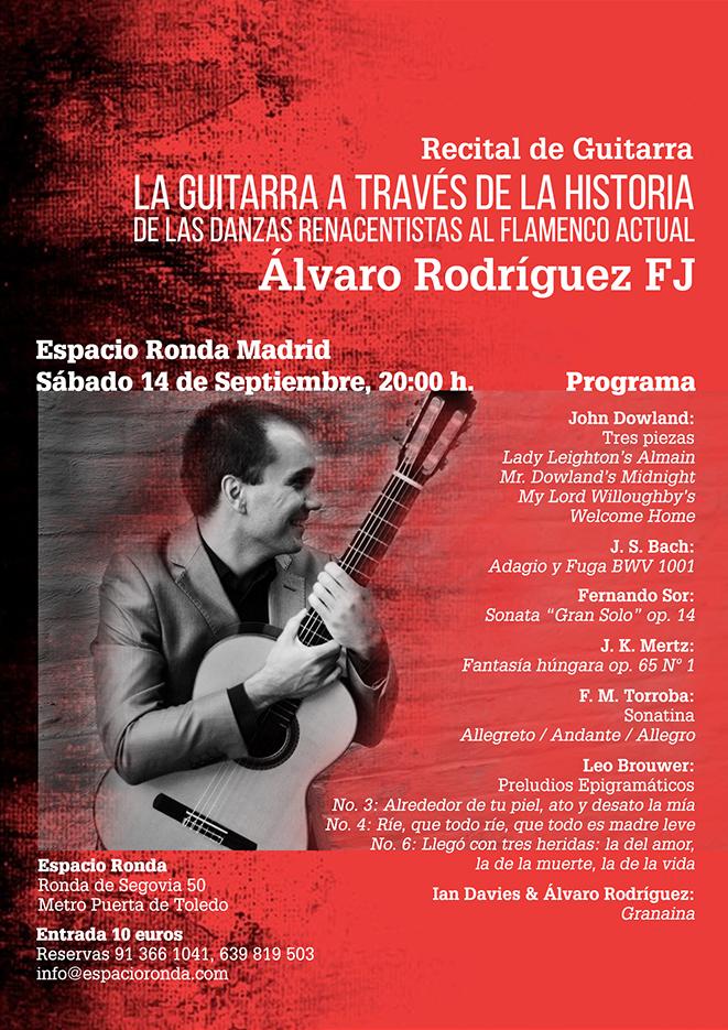 Recital de Guitarra - La Guitarra a través de la Historia