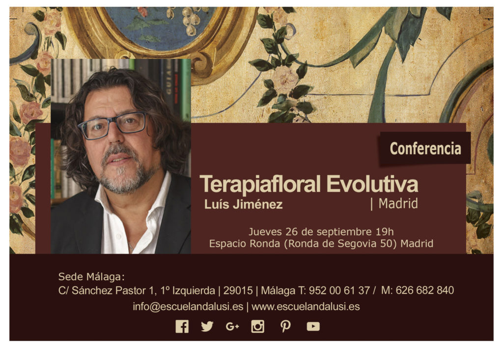 Terapiafloral Evolutiva con Luís Jiménez