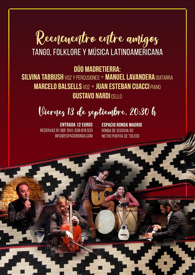Tango, folklore y música latinoamericana