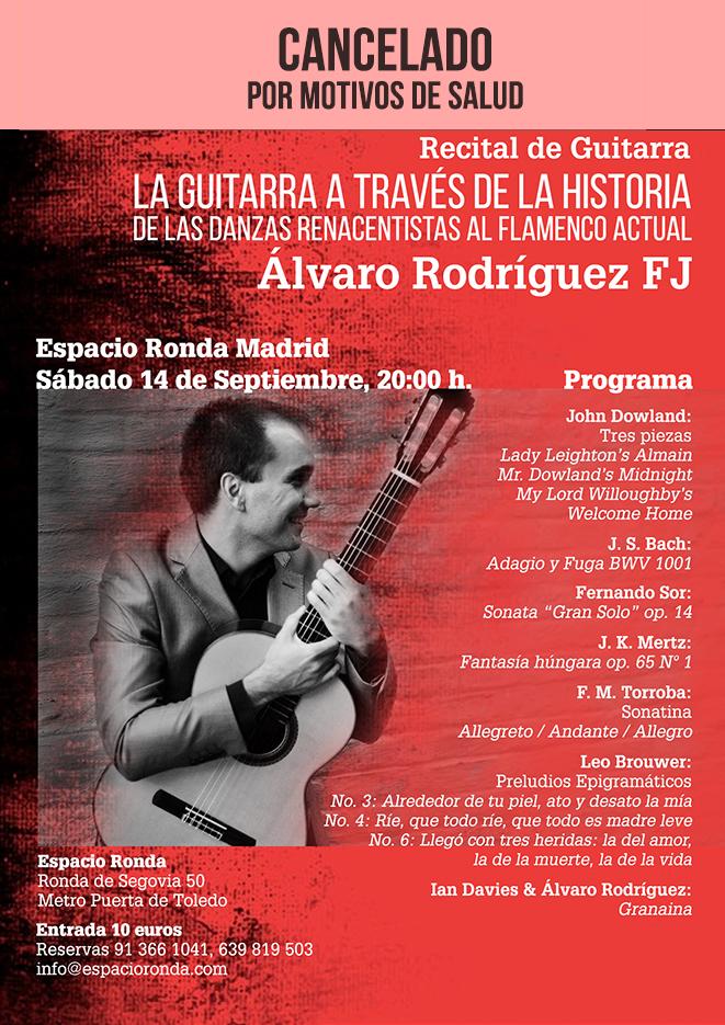 (cancelado) Recital de Guitarra - La Guitarra a través de la Historia