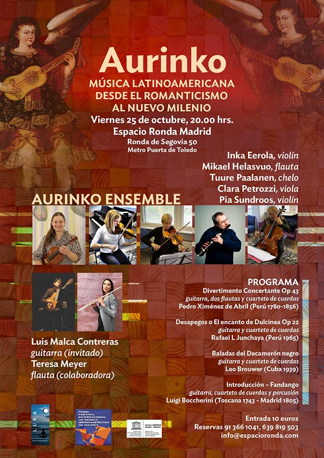 Aurinko · Música Latinoamericana desde el Romanticismo al nuevo milenio