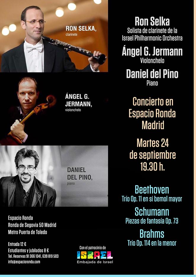 Concierto de Música Clásica · Obras de Beethoven, Schumann y Brahms