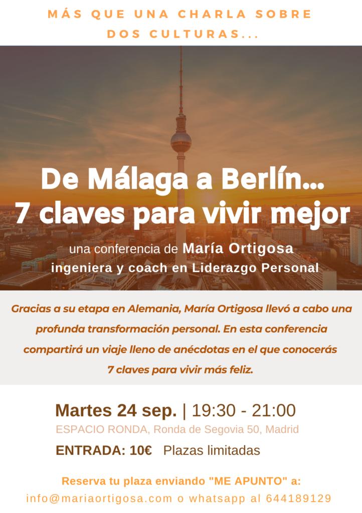 De Málaga a Berlín: 7 claves para vivir mejor