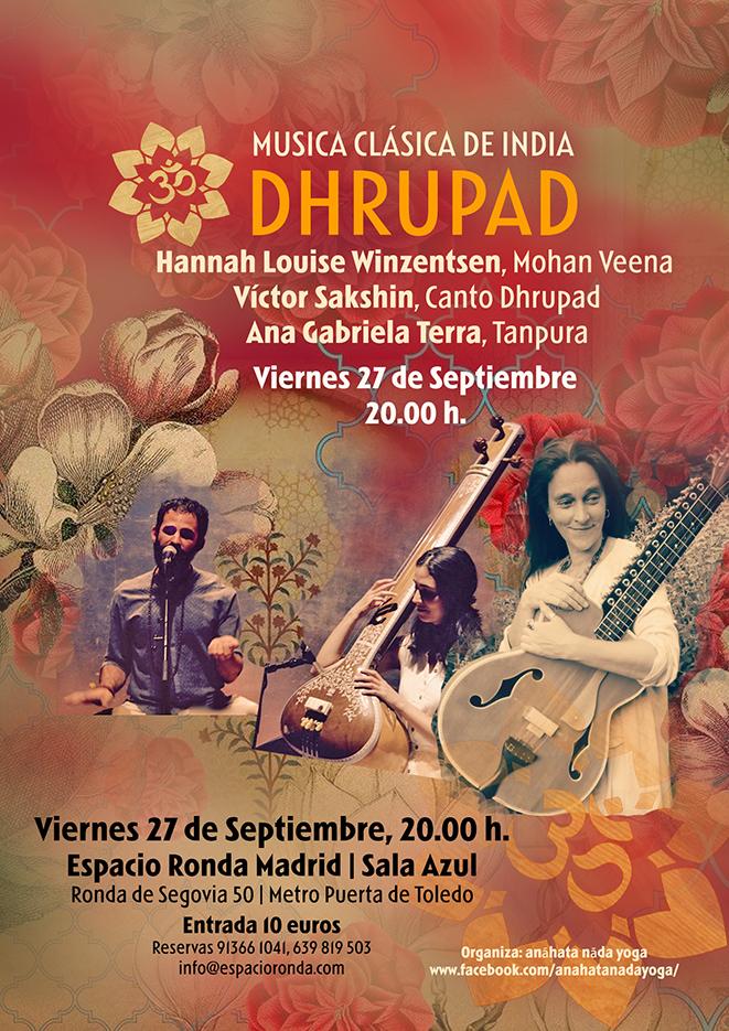 Concierto de Musica Clásica de la India - Dhrupad