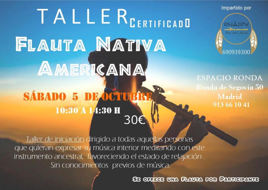"""Taller """"Flauta Nativa Americana"""""""