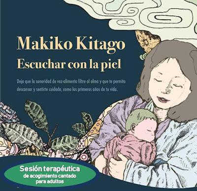 """""""Escuchar con la piel"""" Sesión terapéutica con Makiko Kitago"""