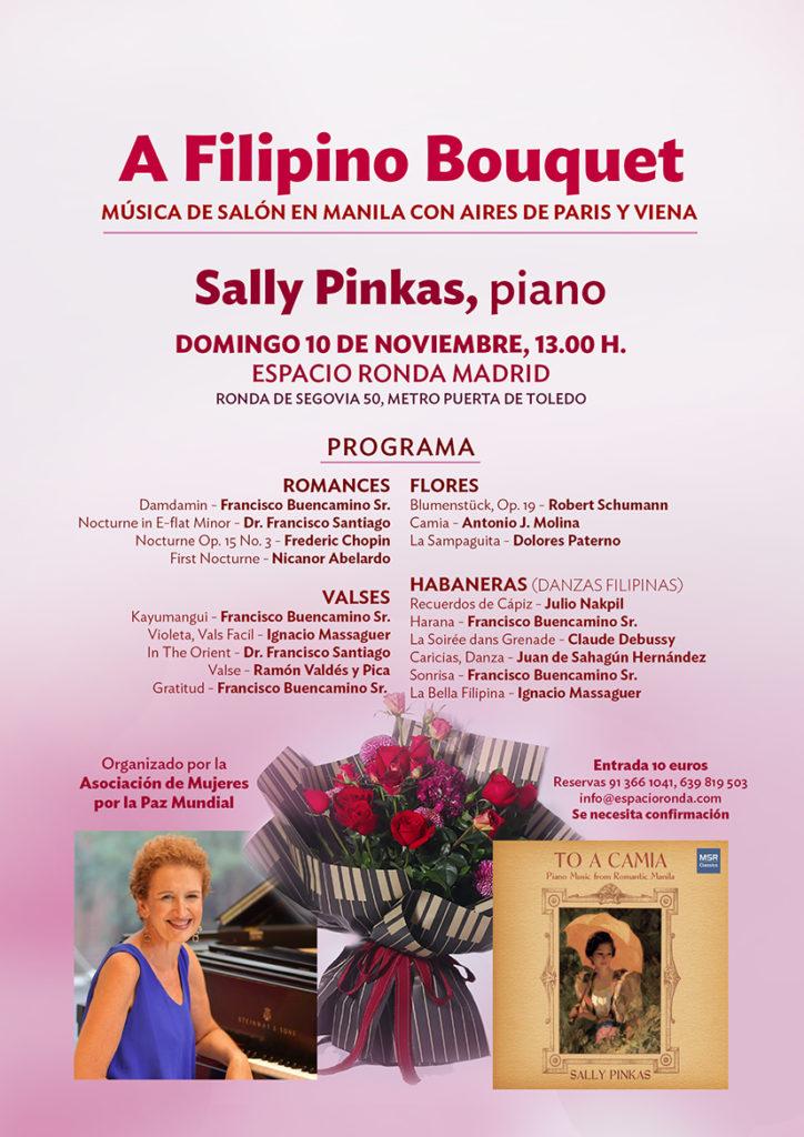 A Filipino Bouquet · Música de Salón en Manila con Aires de Paris y Viena