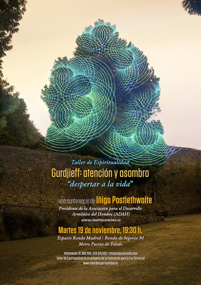 """Conferencia pública """"Gurdjieff: atención y asombro, despertar a la vida"""""""