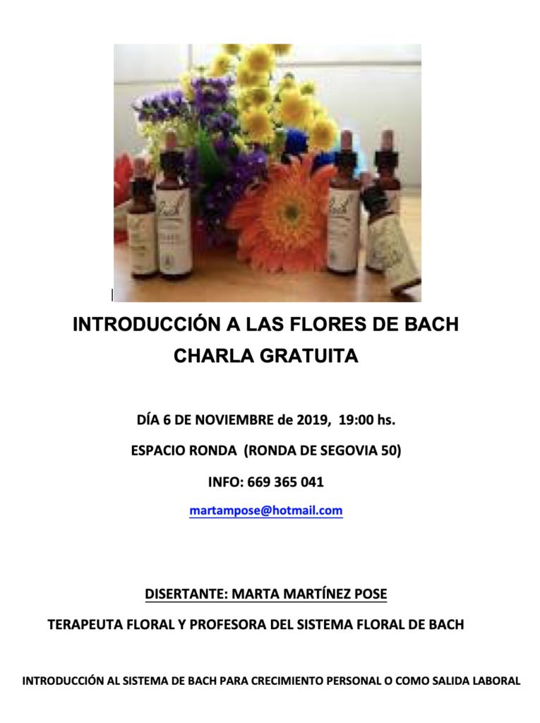 """Charla gratuita """"Introducción a las Flores de Bach"""""""