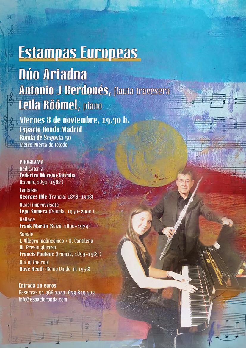 Concierto · Estampas Europeas con el Dúo Ariadna