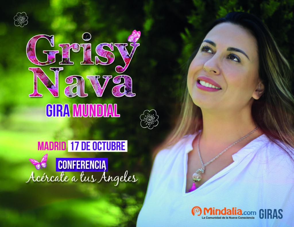 """Conferencia gratuita """"Acércate a tus Ángeles"""" con Grisy Nava"""