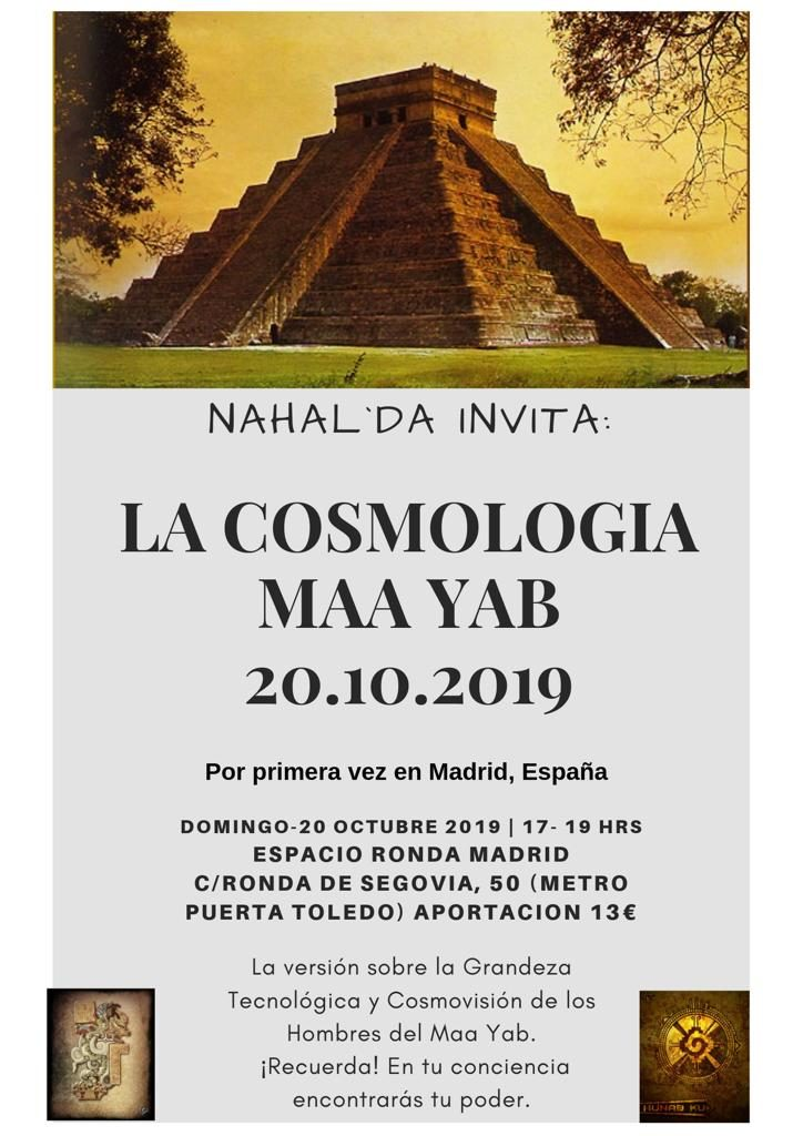 Nahal'Da Invita: La Cosmologia Maa Yab