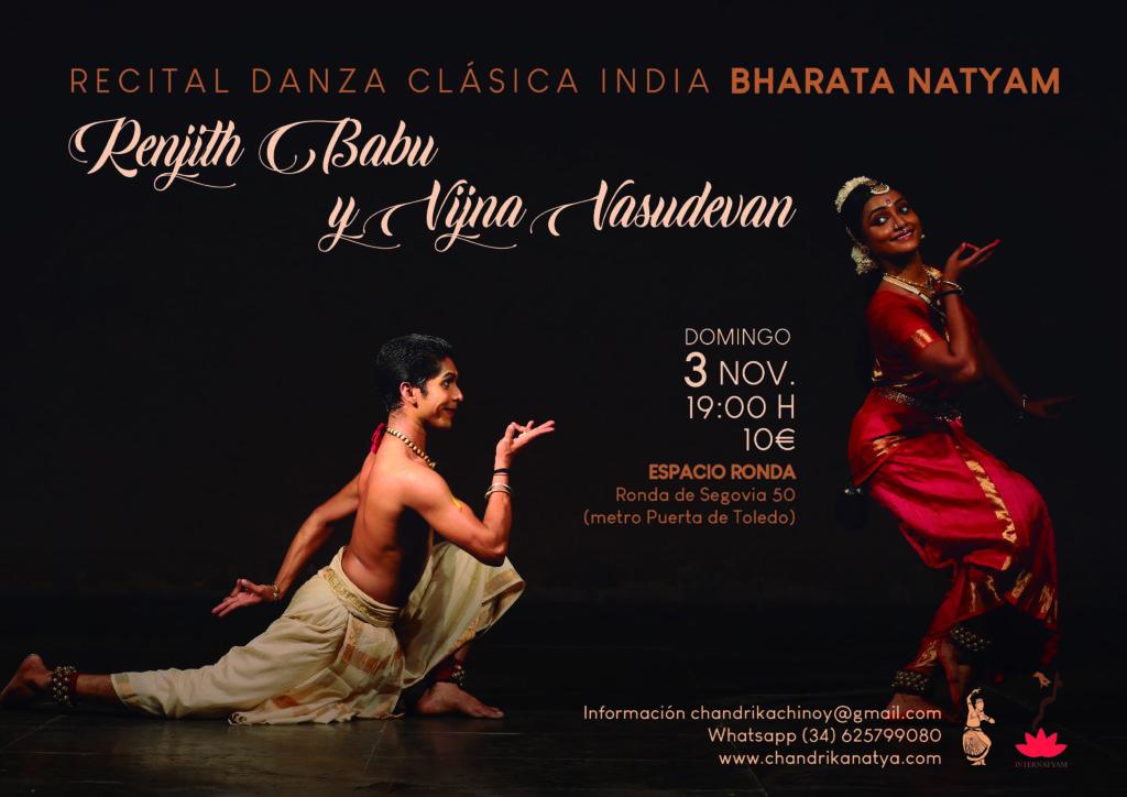 Recital de Danza Clásica India - Bharata Natyam