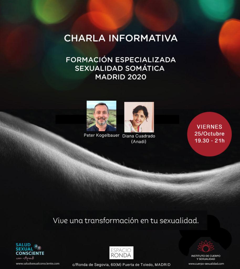Conferencia gratuita sobre Sexualidad Somática con Anadi y Peter Kogelbauer