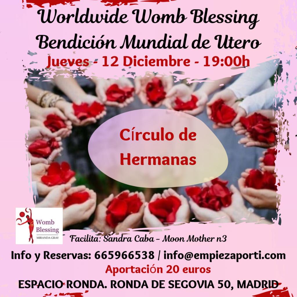 Bendición Mundial de Utero - El Círculo de Hermanas