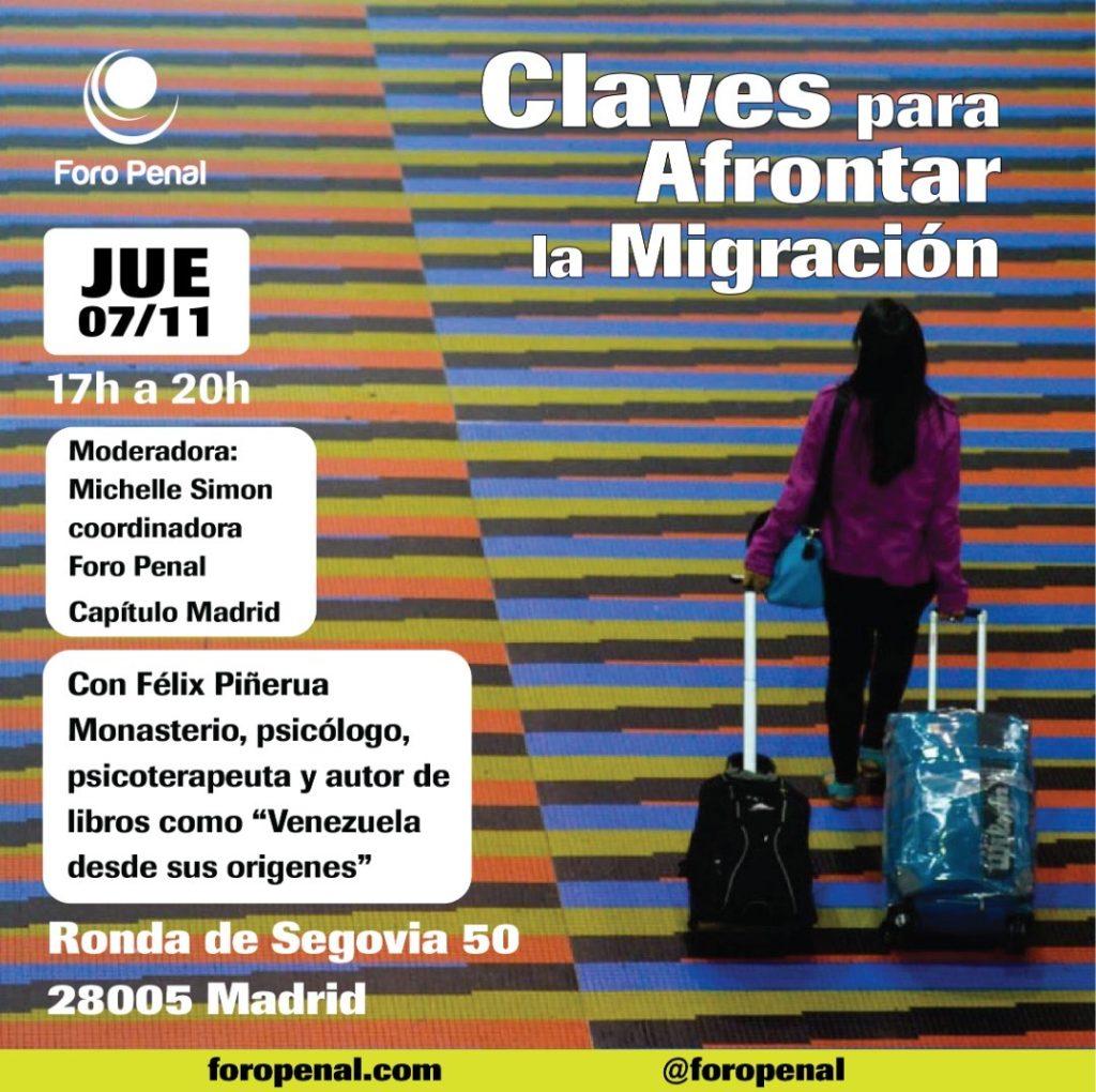 Claves para afrontar la Migración