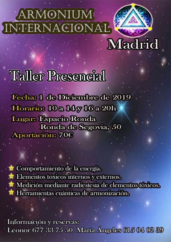 Taller presencial · Armonium Internacional