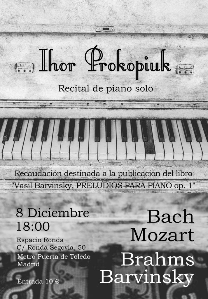 Recital de Piano - Ihor Prokopiuk
