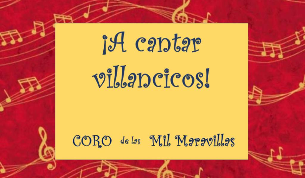 """Taller """"¡A cantar villancicos!"""" con Cristina García Santos"""