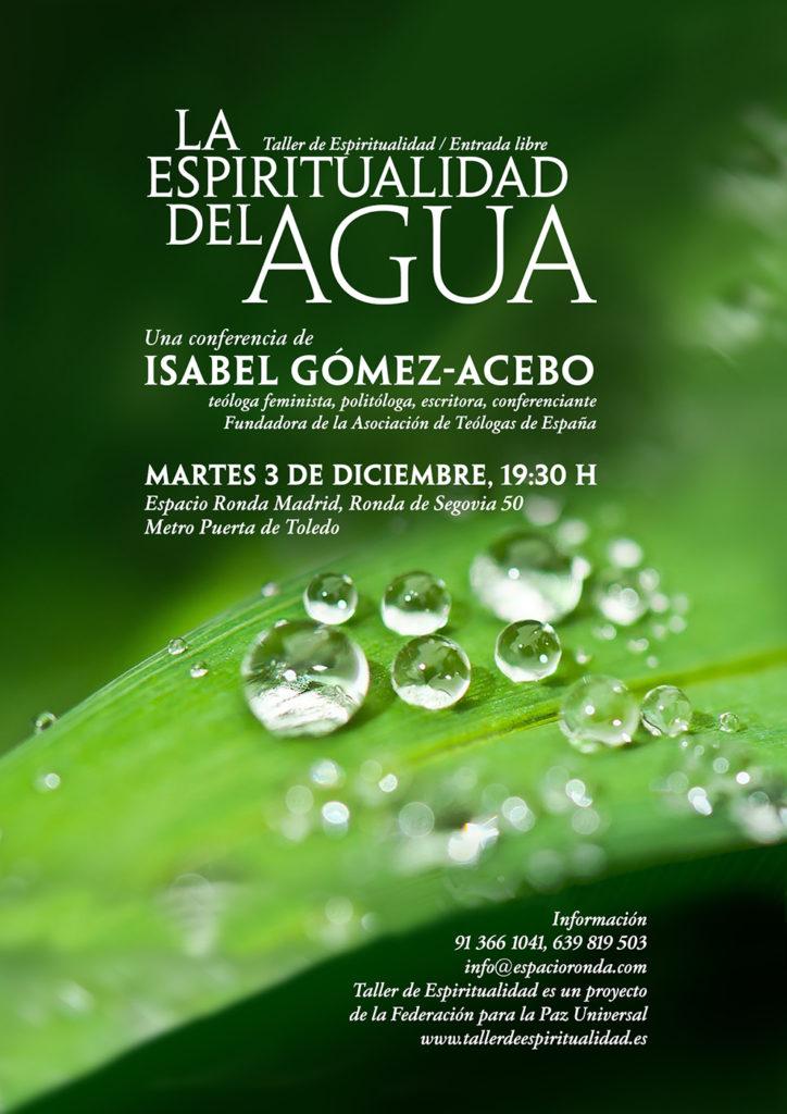 """""""La espiritualidad del agua"""" por Isabel Gómez-Acebo"""