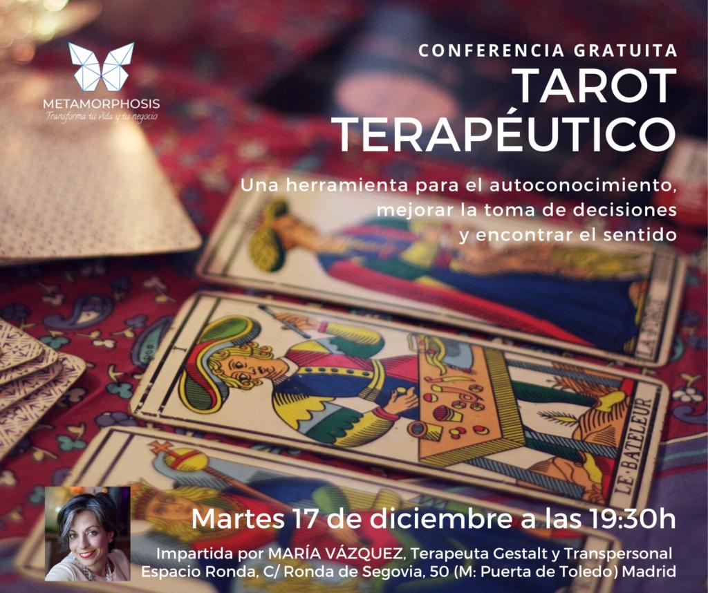 "Conferencia gratuita ""Tarot Terapéutico"""