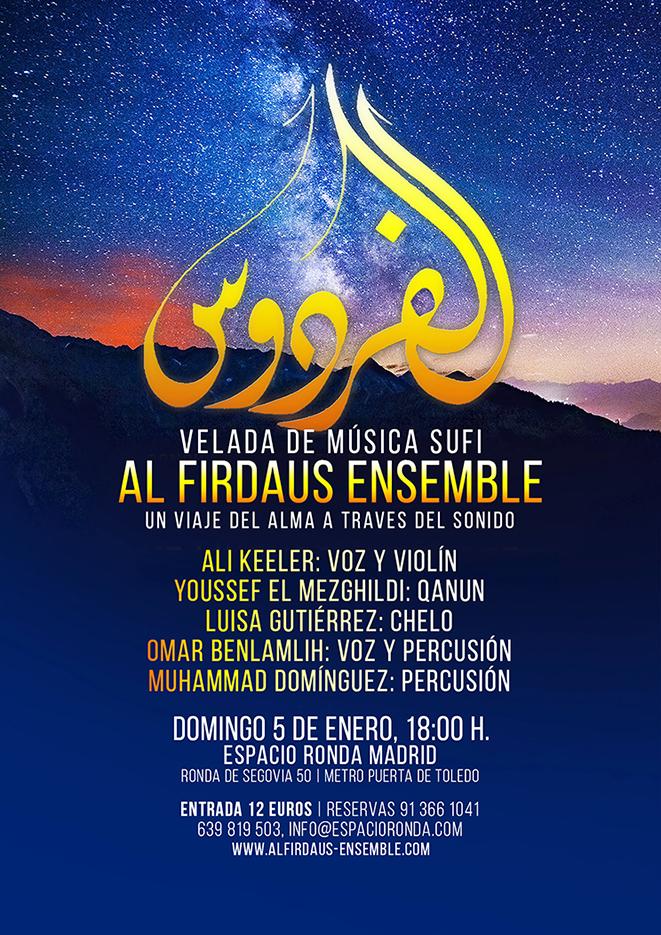 AL FIRDAUS en concierto · Una velada de música sufí