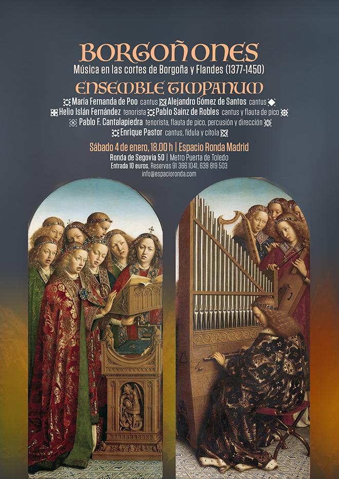 """""""BORGOÑONES"""" Un recital del Ensemble Timpanum"""