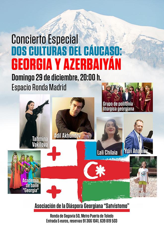 Concierto Especial Dos Culturas del Cáucaso: Georgia y Azebaiyán