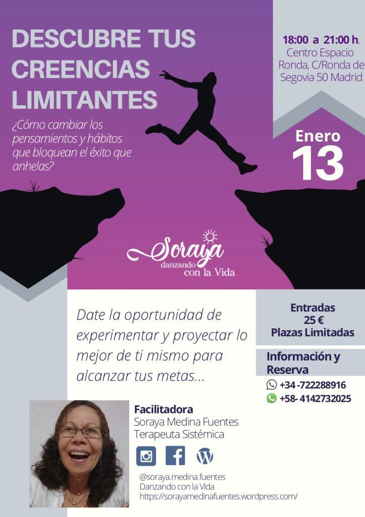 Descubre tus creencias limitantes con Soraya Medina Fuentes