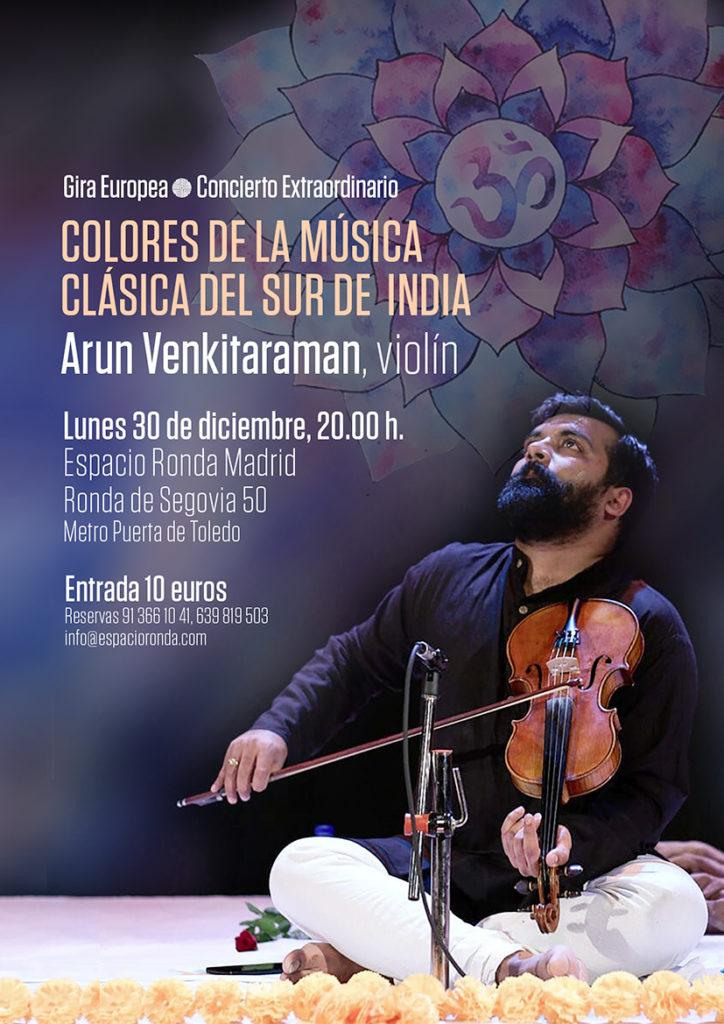 Concierto Extraordinario Colores de la Música Clásica del Sur de India