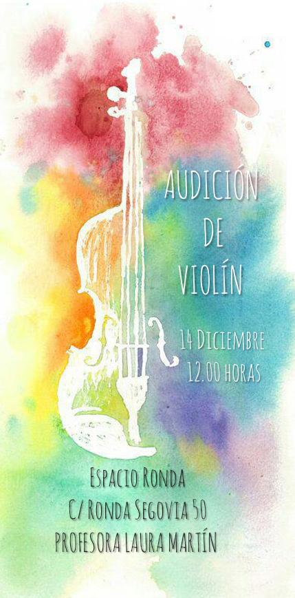 Audición de Violín