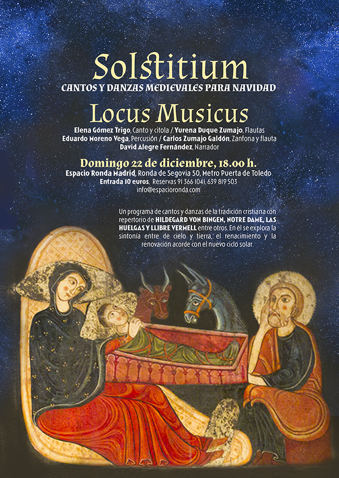 """""""Solstitium"""" Cantos y Danzas Medievales para Navidad"""