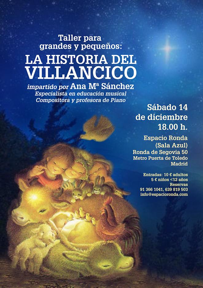 """""""La Historia del Villancico"""" por Ana Mª Sánchez"""