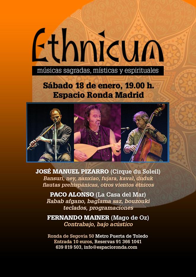 """""""Ethnicum"""" Músicas sagradas, místicas y espirituales"""