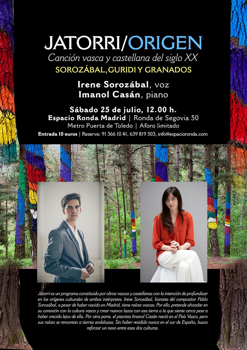 Canción vasca y castellana del siglo XX · Jatorri - Origen